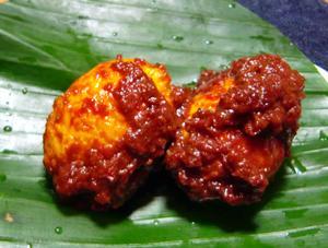 冷めてもおいしいたまごのブンブバリ/Telur Bumbu Bali 【Halal】画像