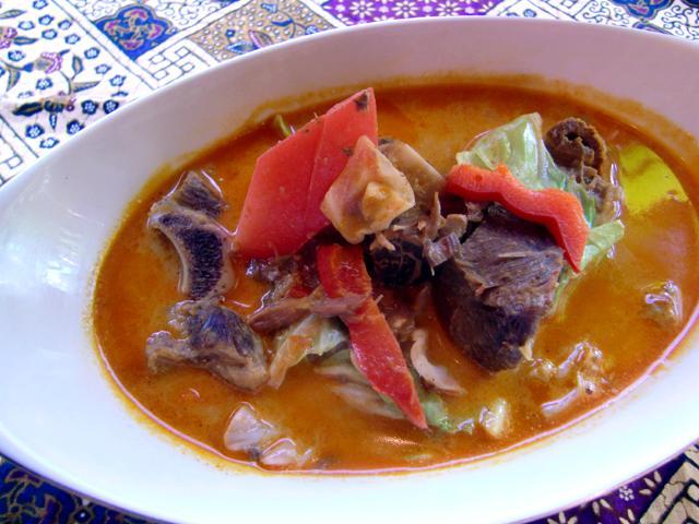 トンセンカンビン(山羊肉と野菜のカレー)2個セット/Tongseng kambing×2 【halal】画像