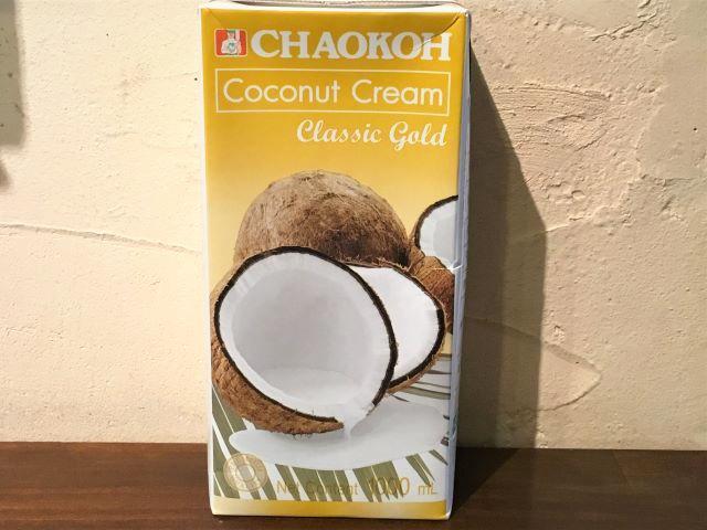 CHAOKOH ココナッツミルク 1リットルテトラパック / Coconut Milk 1L画像