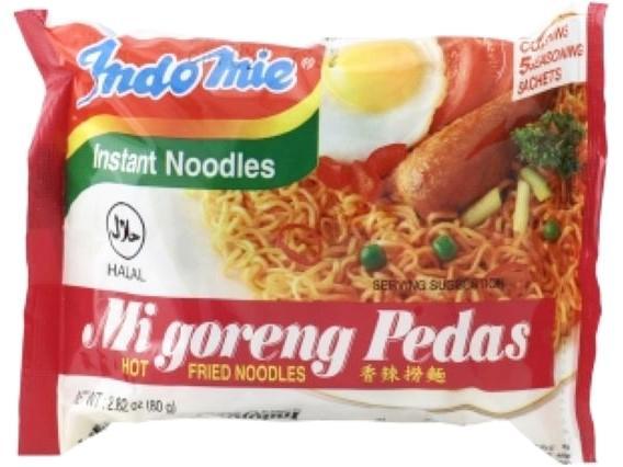 INDOMIE インドミーミーゴレン(激辛) / Mi goreng pedas Hot Fried Noodles画像
