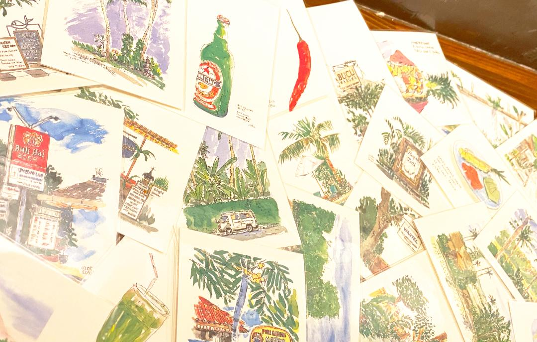 Balizoさんのポストカードいろいろ・24枚セットで(表紙なし)画像