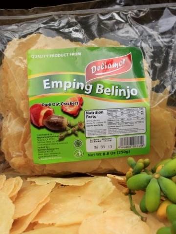 木の実チップス!ウンピンビリンジョウ /DeliamorEmping belinjo 250g画像