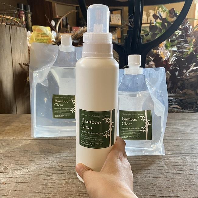 竹の洗剤:洗濯・掃除なんでもOK【全3サイズ】画像