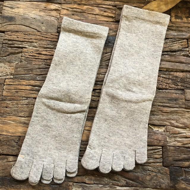 ヤク五本指靴下画像