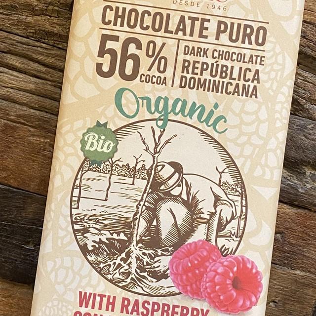 オーガニックチョコレート:ラズベリー 【冬季限定】画像