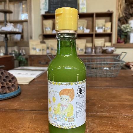有機レモン果汁画像