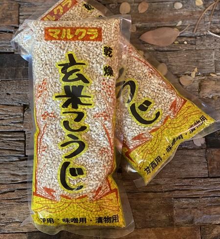 玄米こうじ(乾燥)【500g】画像