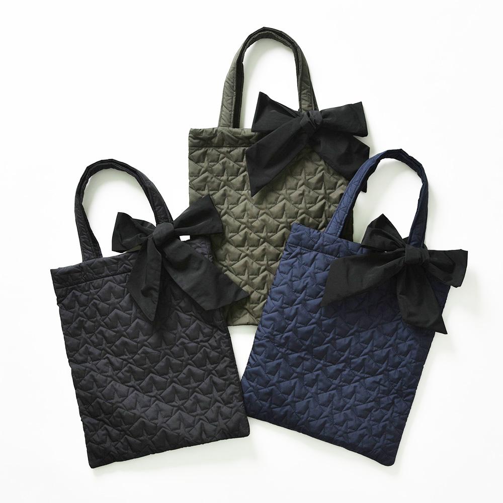 『Stella Quilt』Tote Bag〈全2色〉画像