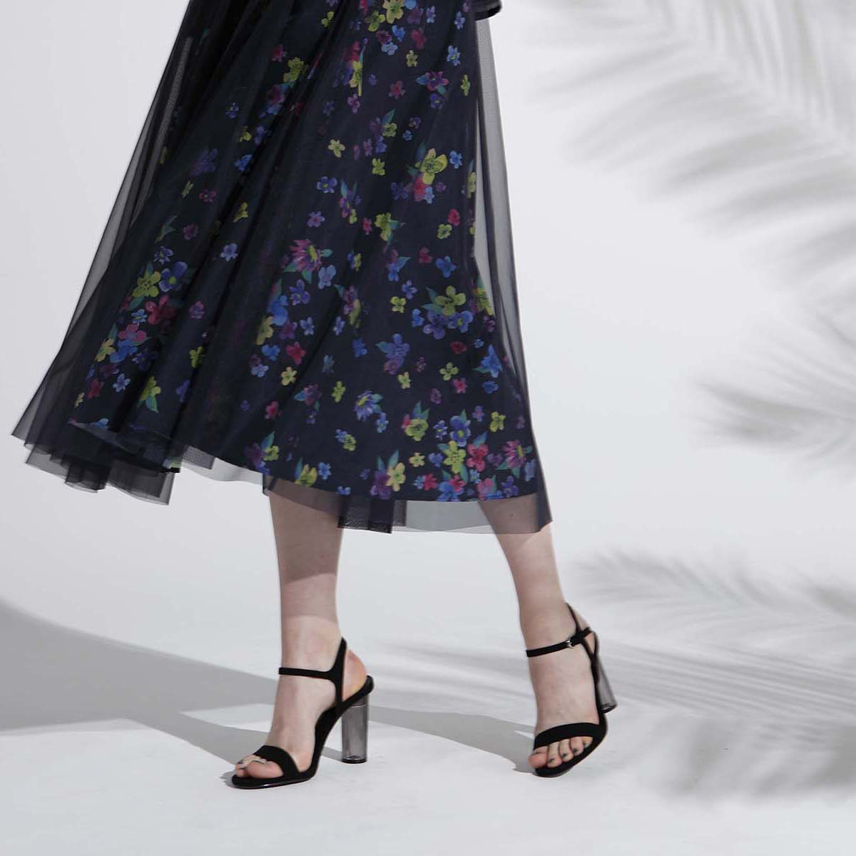 『Bouquet』Tulle Middle& Long Skirt【3月末から4月上旬お届け予定】画像