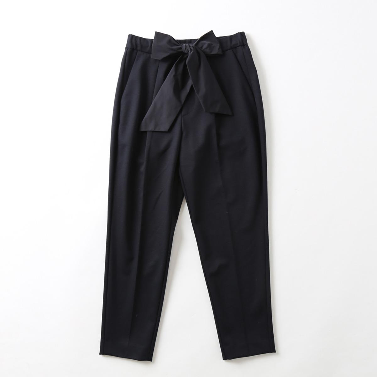 『Dress knit』Tapered Pants NAVY画像