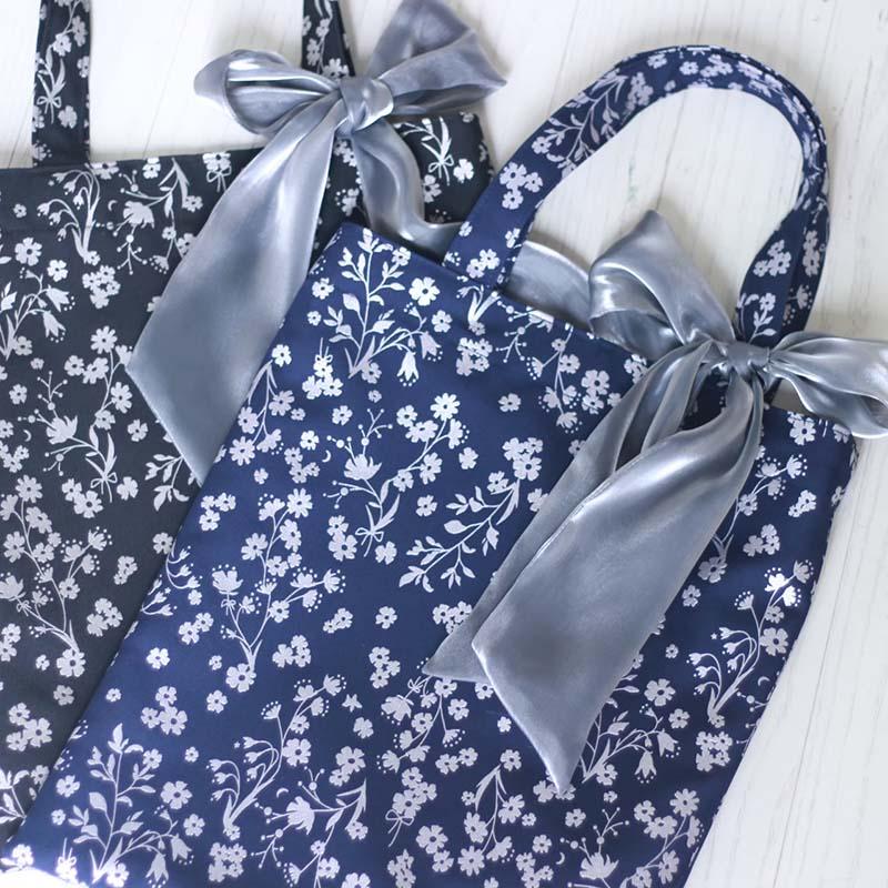 『flozen flower』 Twill Tote Bag画像
