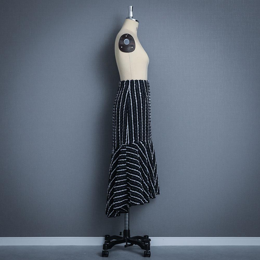 『Fayette』 Marmeid skirt BLACK画像