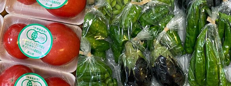 毎週土曜日、八重洲(最寄駅:有楽町)のオフィスビルで有機野菜を販売しています。