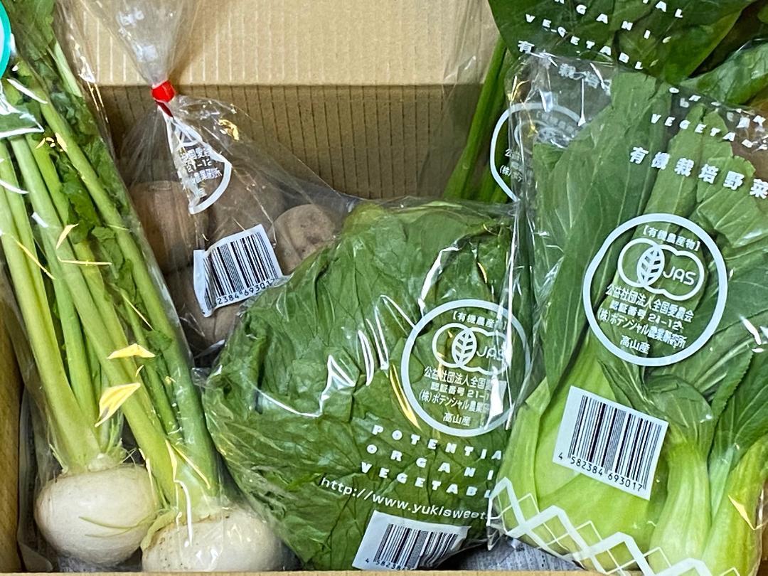 ポテンシャル農業研究所 小さな野菜セット画像