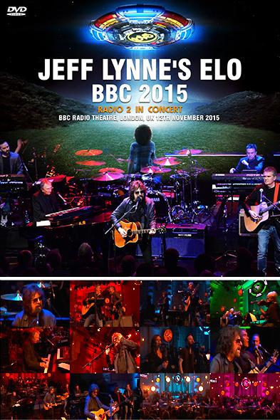 JEFF LYNNE'S ELO - BBC 2015(DVDR)