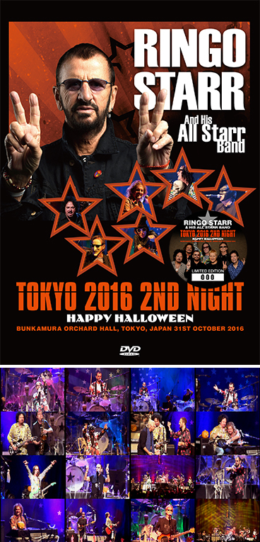 RINGO STARR & HIS ALL STARR BAND - TOKYO 2016 2ND NIGHT ...