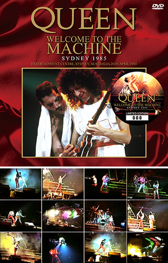 QUEEN - WELCOME TO THE MACHINE: SYDNEY 1985 (プレスDVD) の画像