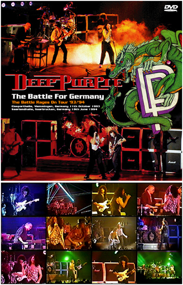 DEEP PURPLE - THE BATTLE FOR GERMANY(2DVDR)の画像