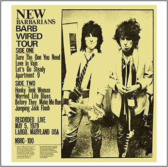 THE NEW BARBARIANS - BARB WIRED TOUR(CDR)の画像
