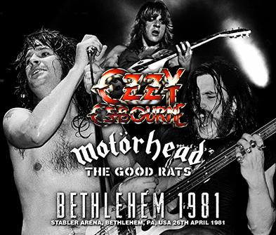 Vintage Ozzy Osbourne 1981 poster heavy metal 3600