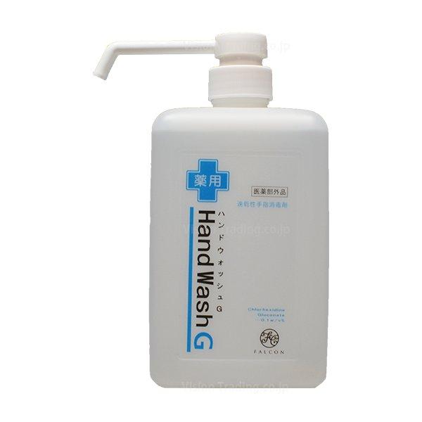[医薬部外品] 薬用ハンドウォッシュG ミストポンプ型 1L画像