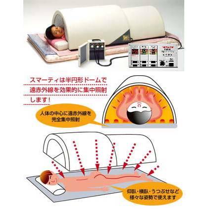 ドーム型遠赤外線サウナ スマーティ F4-NX スライダー付き画像