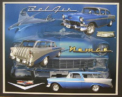 ベルエア ブリキ看板 アメリカン雑貨の画像