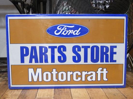 フォードパーツストア ブリキ看板 アメリカン雑貨画像