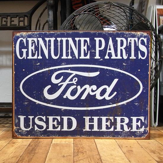 フォード ブリキ看板 ティンサイン アメリカン雑貨の画像