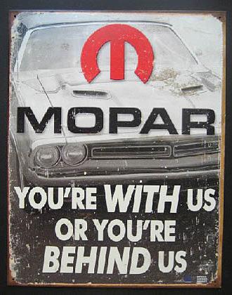 MOPAR モパーブリキ看板 ティンサイン アメリカン雑貨の画像