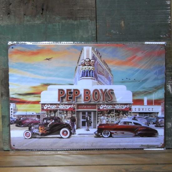 PET BOYS看板 A4サイズ   ティンサイン アメリカン雑貨の画像