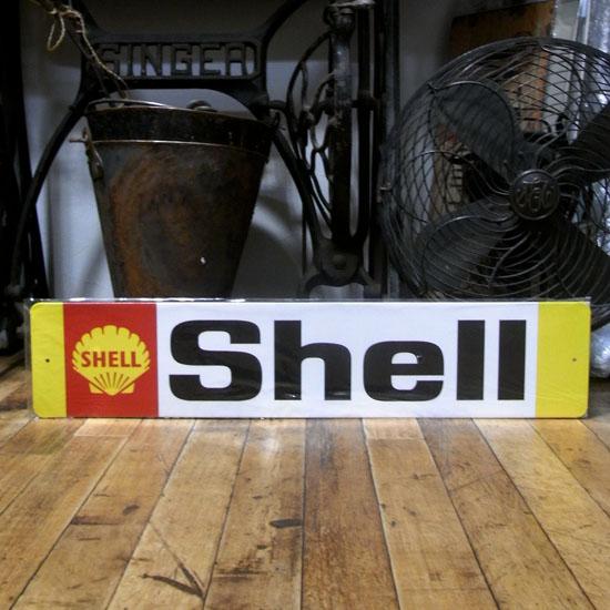 オイルメーカーブリキ看板 シェル ティンサイン アメリカン雑貨の画像