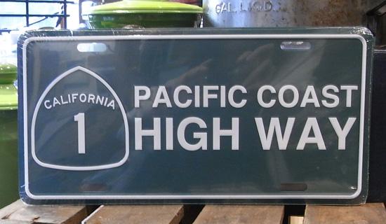 コマーシャルプレート【HIGH WAY】アルミサインプレート アメリカン雑貨の画像