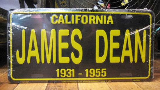 コマーシャルプレート【JAMES DEAN】アルミサインプレート アメリカン雑貨の画像