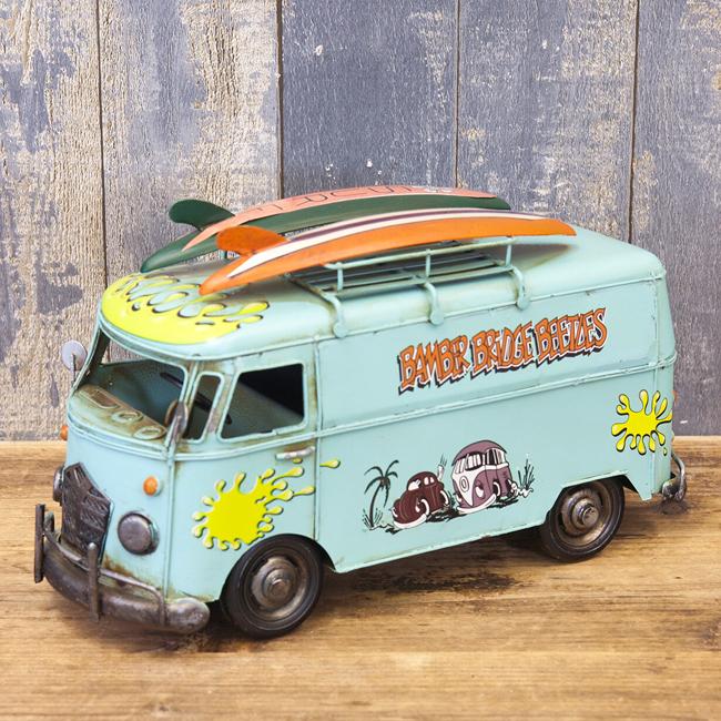 フォルクスワーゲンタイプ SURF バス 自動車 ブリキのおもちゃ アメリカン雑貨画像