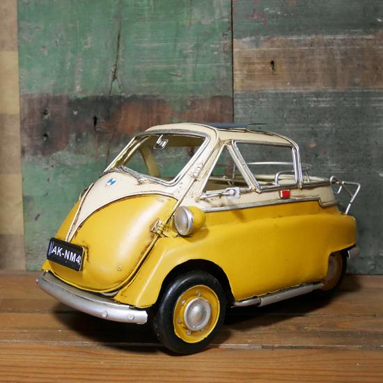 BMW イセッタ キャビンカー タイプ ブリキのおもちゃ インテリアアメリカン雑貨の画像
