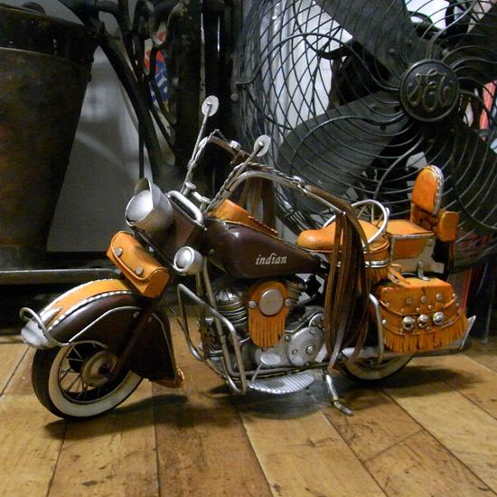 インディアン バイク motorcycle western ブリキのおもちゃ アメリカン雑貨の画像