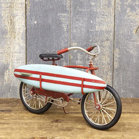 グッドオールド サーフバイシクル ブリキのおもちゃ ブリキ製自転車 アメリカン雑貨の画像