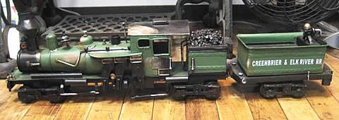 ブリキ製SL機関車 ブリキのおもちゃ 汽車 トラム レトロインテリアの画像
