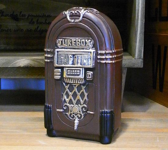 アンティークタイプ ジュークボックスバンク 貯金箱レトロ アンティーク レトロ雑貨の画像