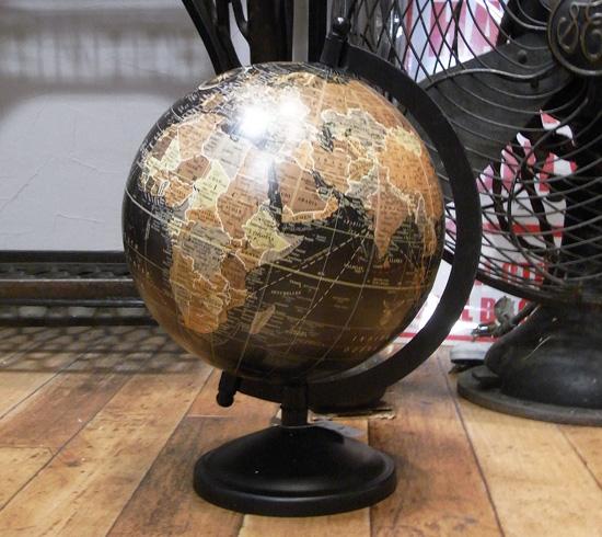 アンティークタイプ グローブ 地球儀レトロ アンティーク レトロ雑貨画像