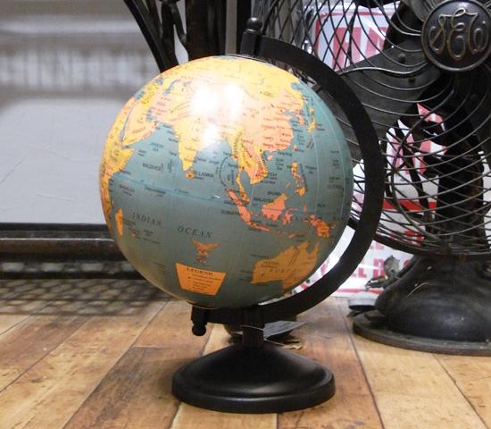 アンティークタイプ グローブ 地球儀レトロ アンティーク レトロ雑貨の画像