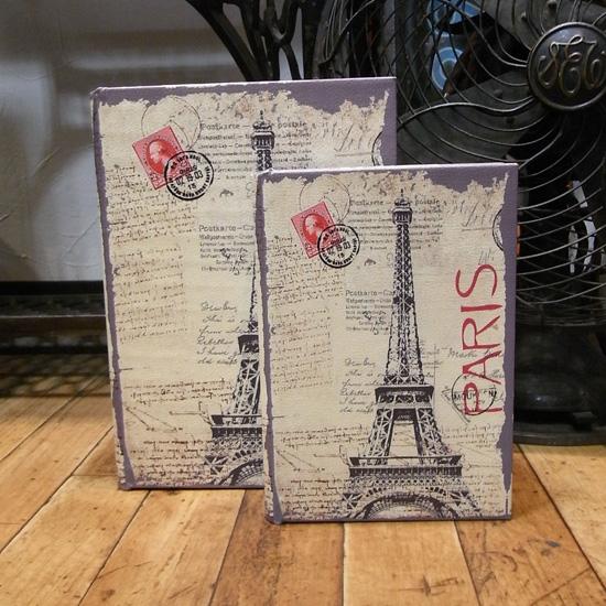 アンティークタイプシークレットBOOK 【PARIS】2冊セット レトロ アンティーク レトロ雑貨の画像