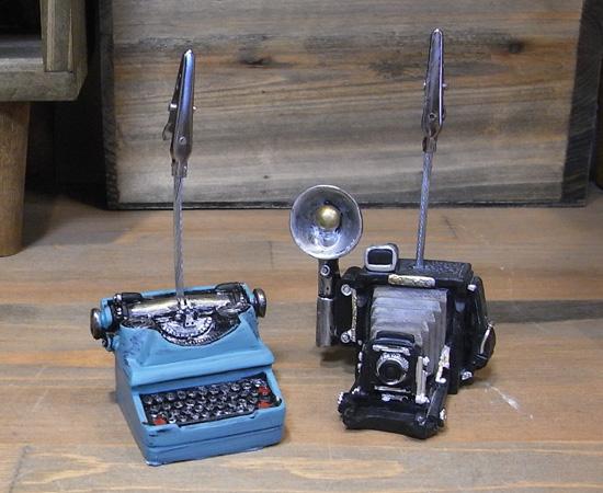 アンティークタイプカードスタンド メモスタンド レトロ アンティーク レトロ雑貨の画像