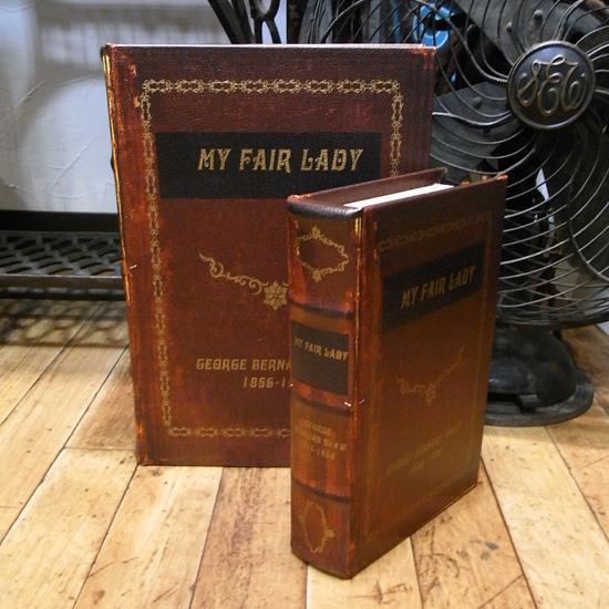 アンティークタイプシークレットBOOK 【マイ・フェア・レディ】2冊セット  アンティーク レトロ雑貨の画像