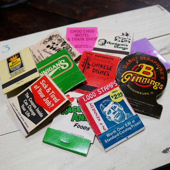 アンティークオールドマッチ 5点セット マッチ箱 レトロインテリア アメリカン雑貨の画像