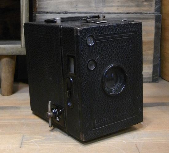アンティークBOXカメラ 【GOERZ】レトロインテリア アンティーク雑貨の画像
