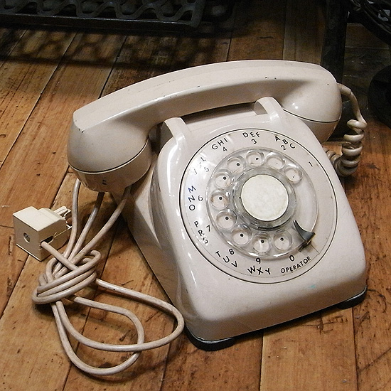 アンティーク ダイヤル式 電話機 【Automatic Electric Ltd】ユーズド レトロインテリア アンティーク雑貨の画像