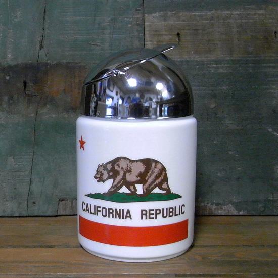 カリフォルニア ドーム灰皿 アッシュトレイ 卓上灰皿 アメリカン雑貨の画像