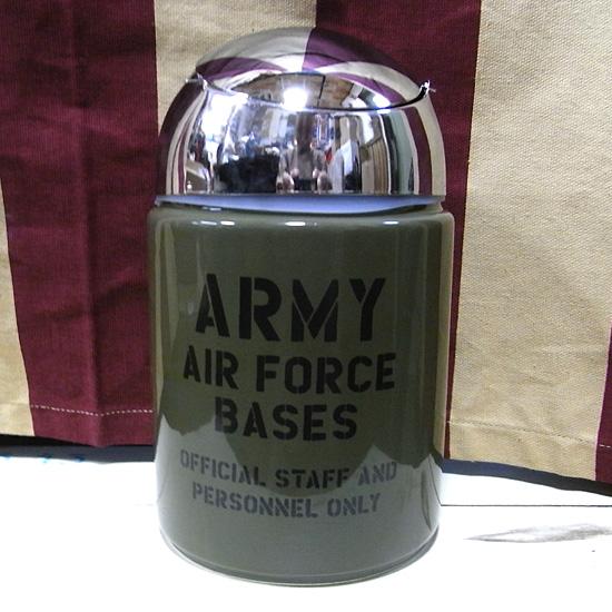 ARMYドーム型灰皿  卓上灰皿 アメリカン雑貨画像